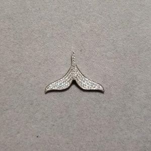925 Sterling Silver Cubic Zirconia Pendant Necklac